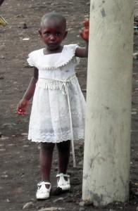 Girl in White Dress (Goma)