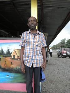 Craft market seller
