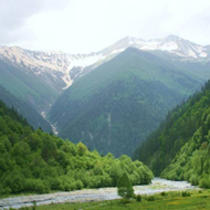 Landscape in South Ossetia's Dzhava District190sq