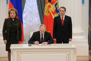 2014 03 18 Ceremony_signing_the_laws_on_admitting_Crimea_and_Sevastopol_to_the_Russian_Federation