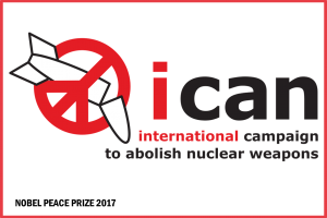 ICAN logo red border