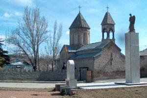 South Ossetia church