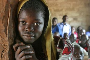 girl Central African Republic 600 x 400