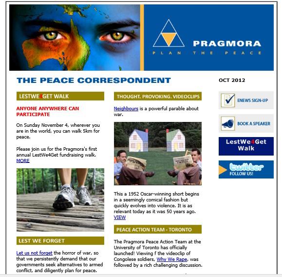 Peace Correspondent image 2012 10