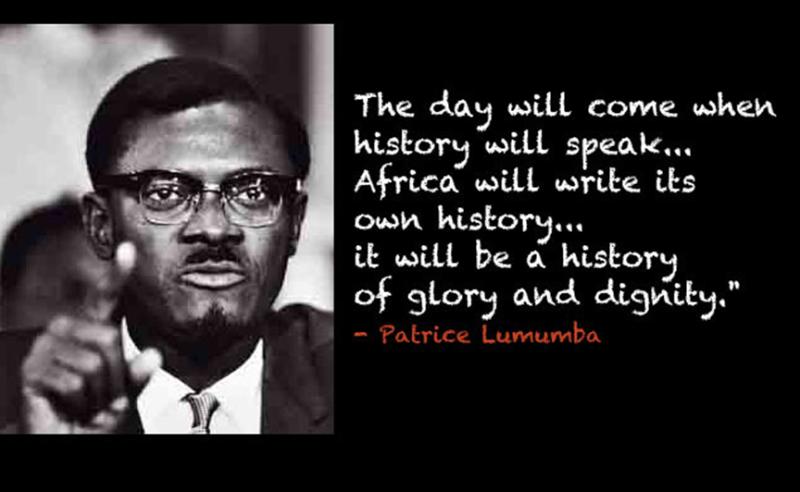 Lumumba quote