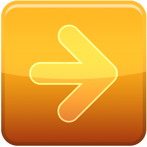 forward icon orange 1