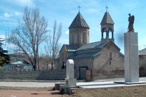 South Ossetia church